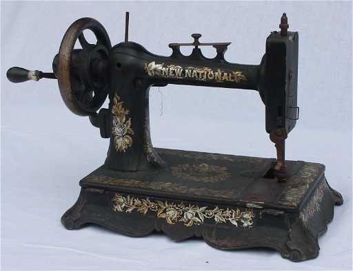 New National Hand Crank Sewing Machine Fascinating New Hand Crank Sewing Machine