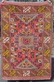 4x6 semiantique Turkish Sultan Oriental area rug