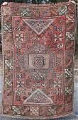 4x6 semiantique Turkish Konya Oriental area rug