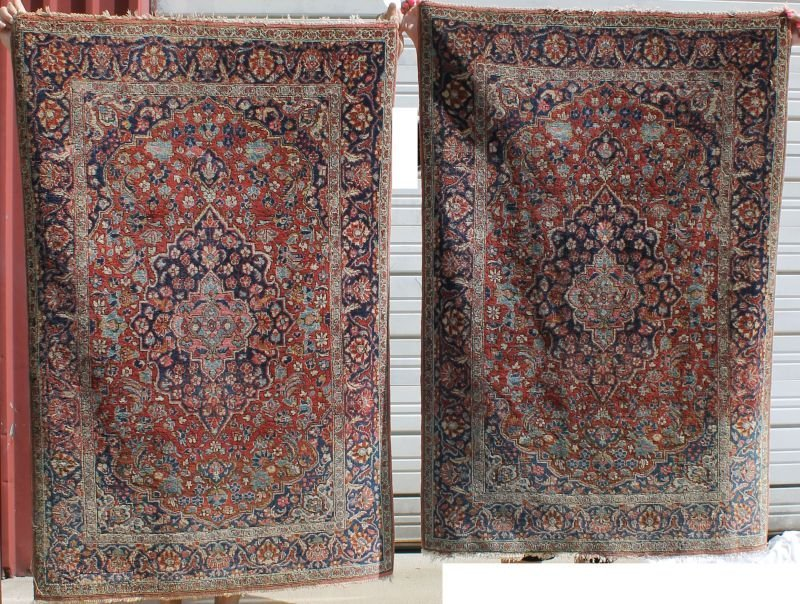 fine quality rare matched pair of semi-antique