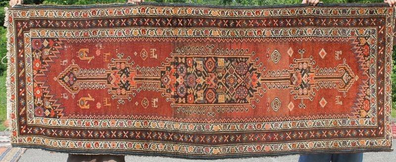 """3'4""""x8'4"""" Semi antique Northwest Persian Oriental"""