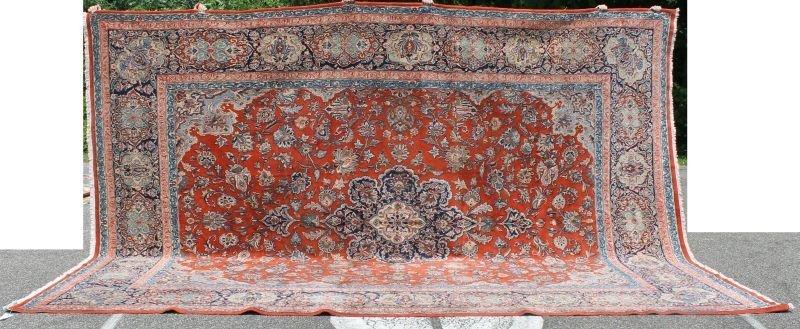 "Huge 11'2""x15'6"" Persian Kashan rm size Oriental rug -"