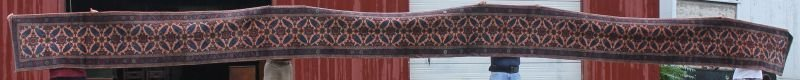 "extraordinary 2'5""x 38'5"" semi-antique Persian Lilihan"