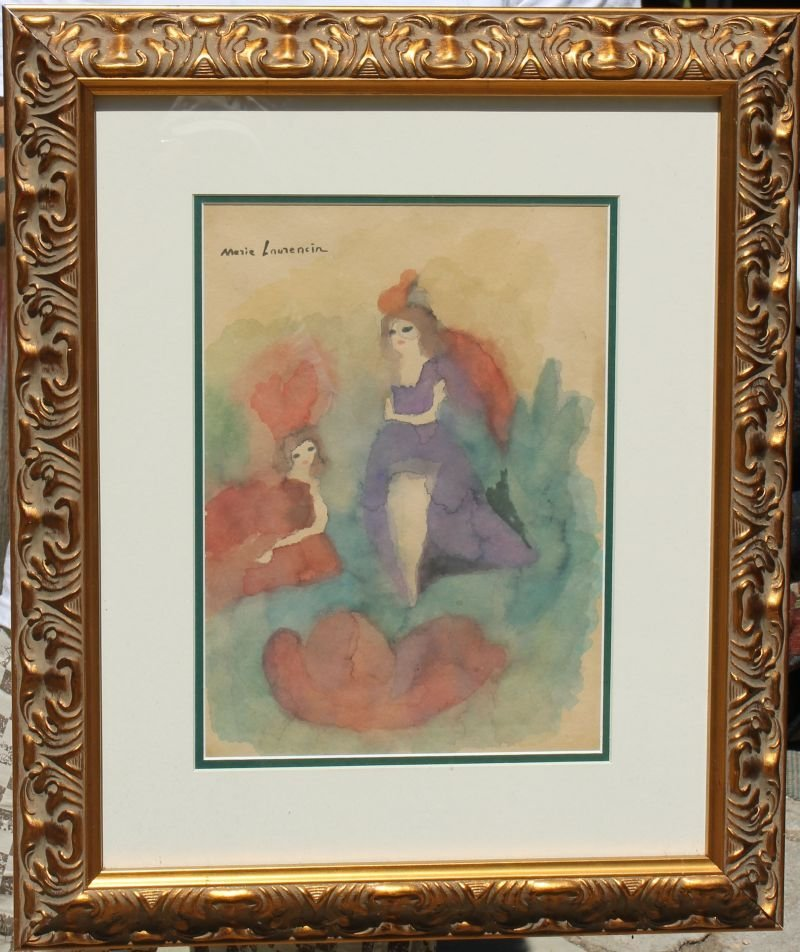 "Marie Laurencin (1885-1956) 14 1/2"" x 10 1/2"" sight"