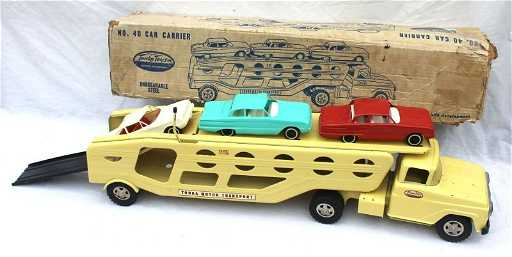 Fine 1960 Tonka Car Hauler Carrier 40 W Rare 3 Novas