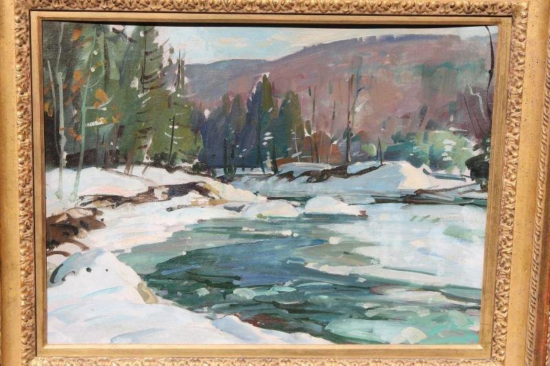 """fine Aldro Thompson Hibbard (1886-1972) 18""""x24"""" o/bd"""