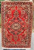 Fine 34x5 semi antique Persian Sarouk Oriental area