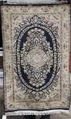 5x32 semiantique fine silk woven sgnd Oriental area