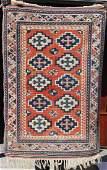 5x34 semiantique CaucasianKazak Oriental area rug