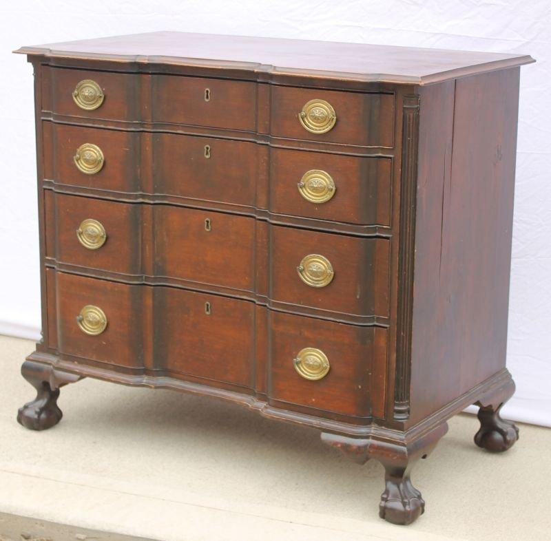 Important fine & rare period Chippendale ca 1770's-80's