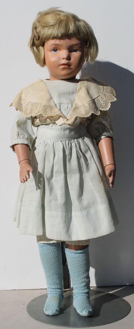 ca 1911-1915 Schoenhut doll w orig wig (in orig set) &