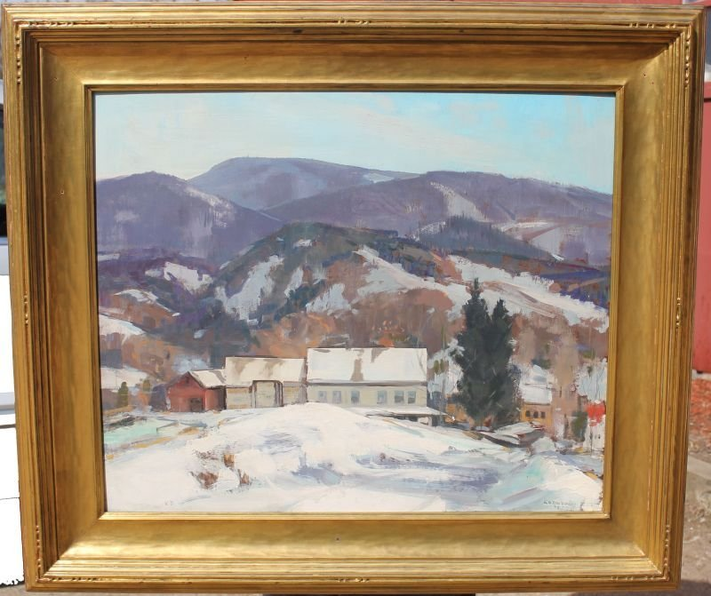 """Outstanding Jay Hall Connaway (1893-1970) 24""""x30"""" o/bd"""