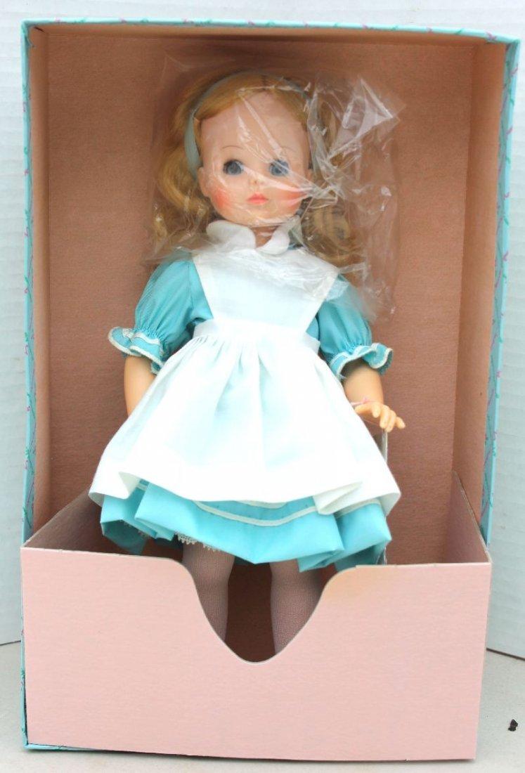 "2 Madame Alexander dolls mint in orig box ""Alice"" &"