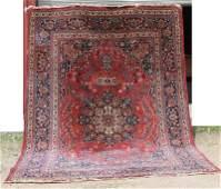 "8'5""x12' semi-antique Persian Sarouk Oriental rm size"