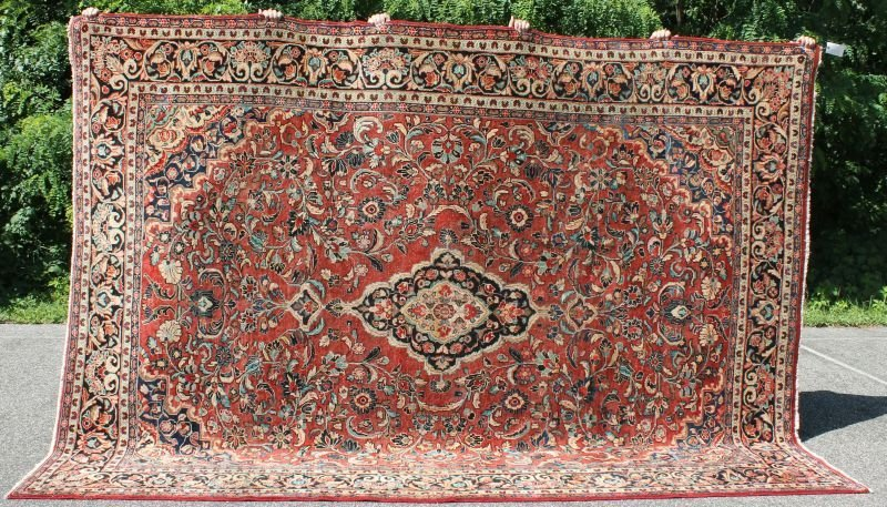 "Fine 8'10""x11'10"" semi-antique Persian Mahal rm size"