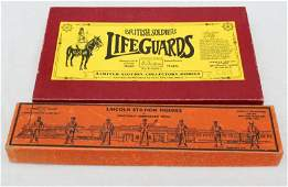 "Ltd ed boxed set of Britains ""Life Guards"" horseman in"