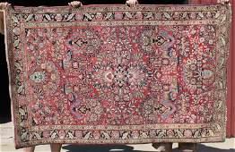 42x67 semiantique Sarouk Oriental area rug