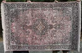 42x67 Art Silk Kashmir lg Oriental area rug