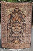 4x62 semiantique Indo Oriental area rug
