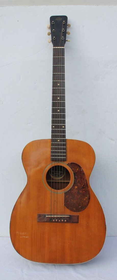 """early to mid 1950's Gretsch """"Burl Ives Model with the"""