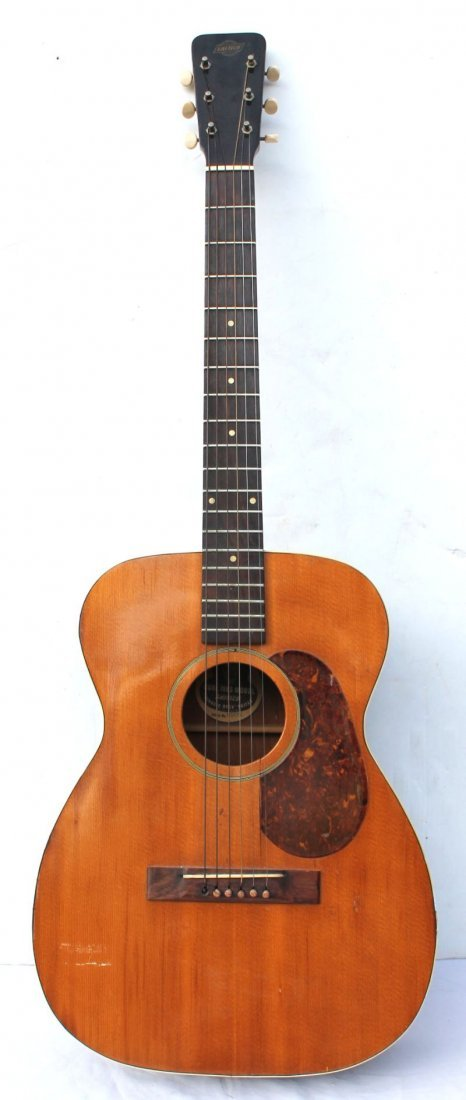 """early to mid 1950's Gretsch """"Burl Ives Model with the - 6"""