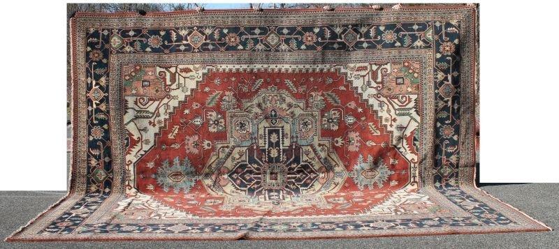 "12'x14'8"" Serapi Oriental oversize rm size rug"