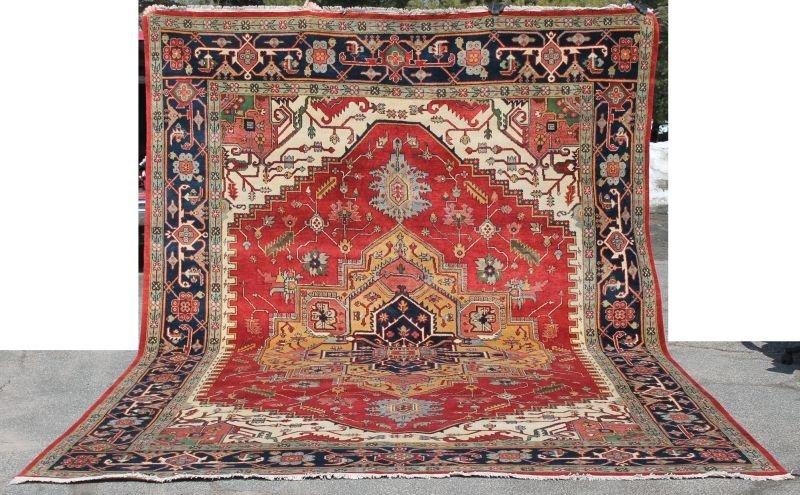 Fine 10'x14' Serapi oversized Oriental rm size rug
