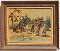 "Alice Worthington Ball (1869-1929) 16""x20"" o/bd titled"