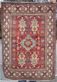 37x410 Uzbek Kazak Oriental area rug