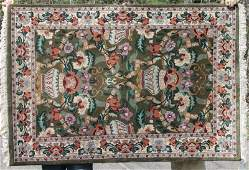 311x511 semiantique Kashan Oriental area rug