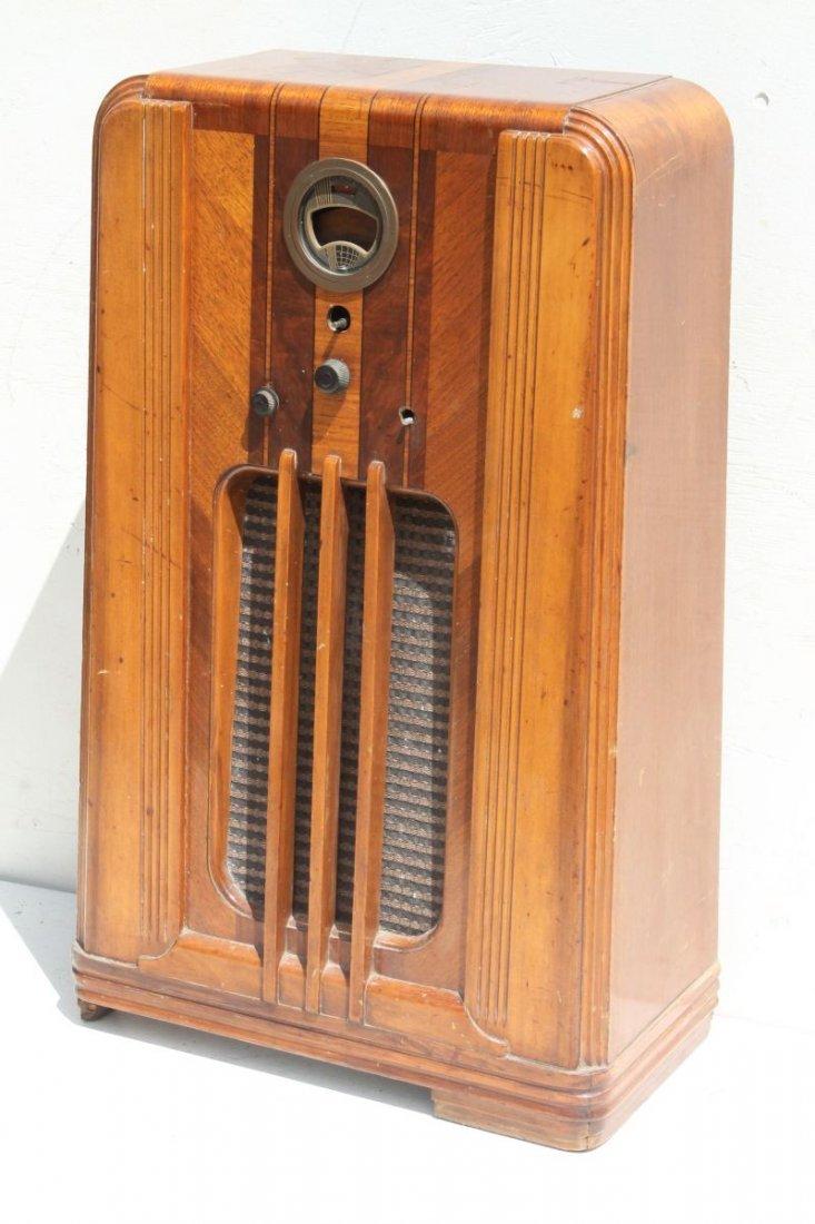 "Philco Radio Model 37-640... 39"" tall x 22 3/4"" wide x"