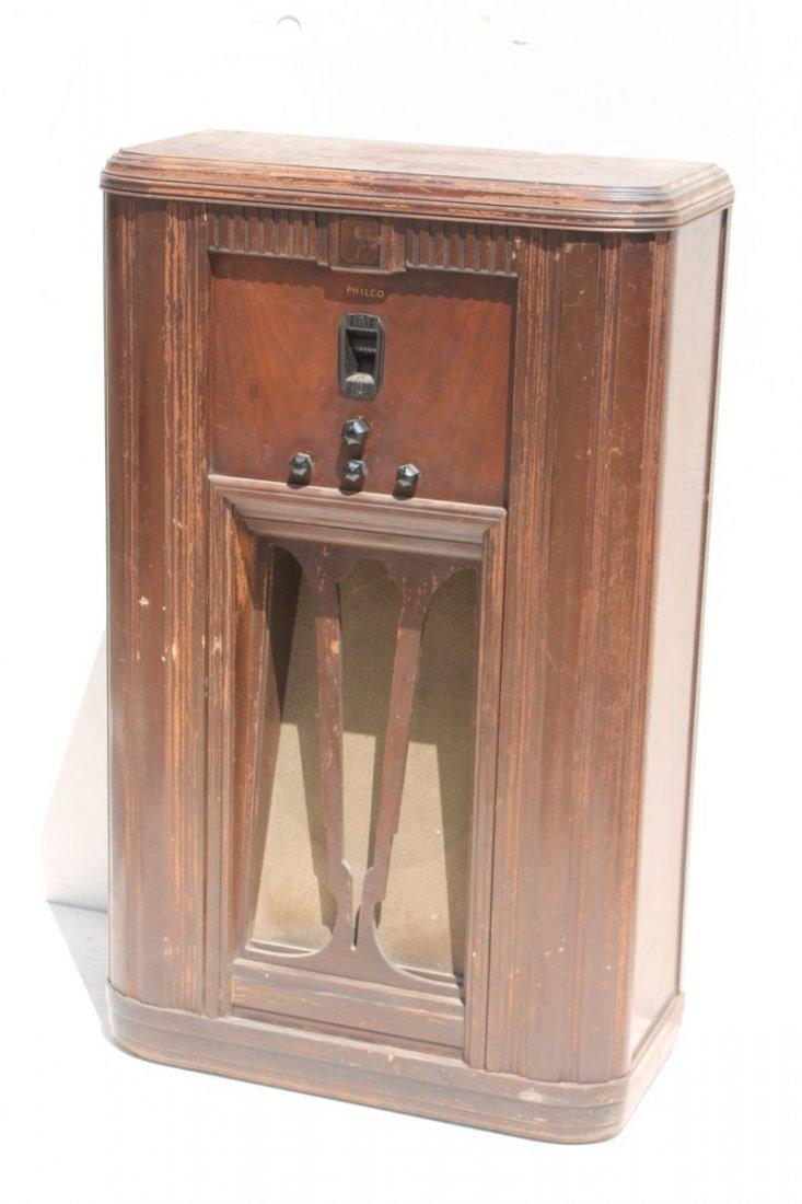 "Philco Radio Bakelite Knobs Model 29... 39"" tall x 24"""