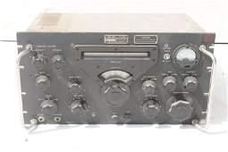 Collins Radio Co Military Signal Corps radio receiver -