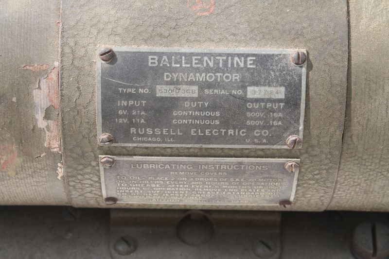 Military Signal Corps Power Unit PE-103-A by Ballantine - 5