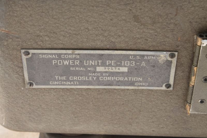 Military Signal Corps Power Unit PE-103-A by Ballantine - 6