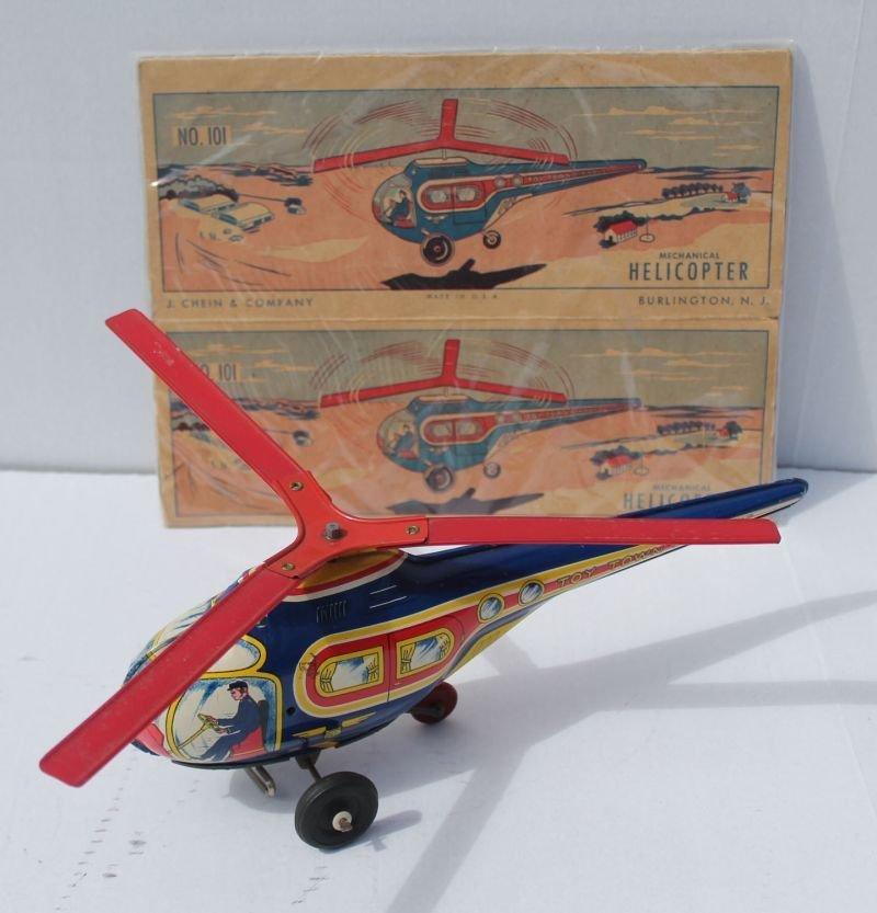 "J.Chein & Co 13"" long ""Toy Town Airways"" #101"