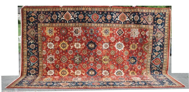 "Fine 9'10""x13'8' Mahal Oriental rug"