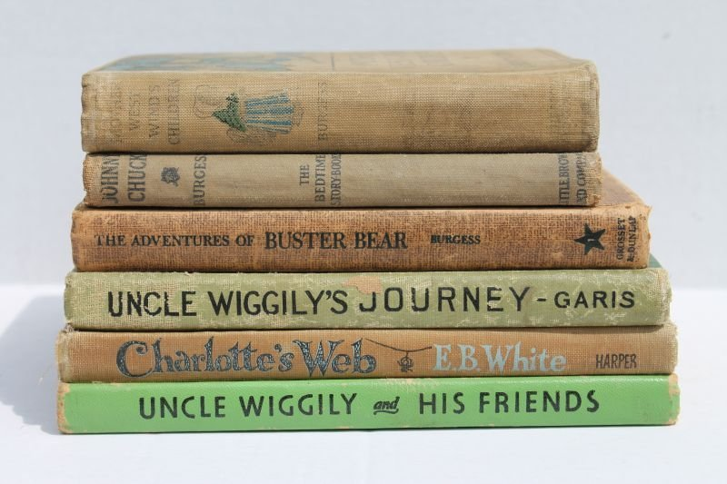 lot of 6 children's books incl a 1st edition