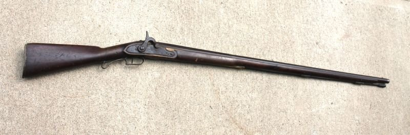 Harper's Ferry stamped 1812 musket converted to