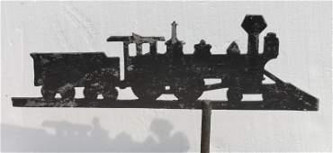 rare ca 1920 thick sheet metal American locomotive