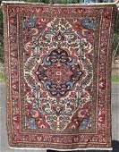 """3'9""""x5'1"""" antique Oriental area rug"""