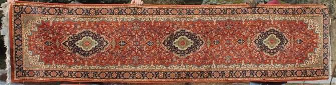 semiantique Persian Tabriz 26x103 Oriental runner