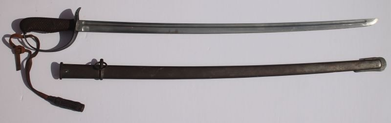 Japanese WWI/WWII sword in sheath w matching serial