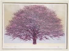 Hajime Namiki (Japanese B. 1947) Japanese woodblock