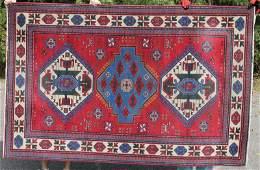 5'x8' fine semi-antique Caucasian Kazak Oriental rug