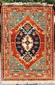 29x310 Uzbek Kazak Oriental area rug