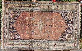 4x64 semiantique Oriental area rug