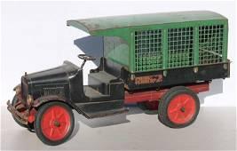 "antique Buddy L ""Express Line"" truck w orig labels - 24"