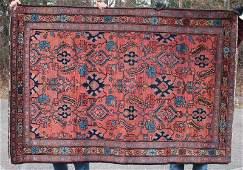 46x67 antique Persian Lilihan Oriental area rug