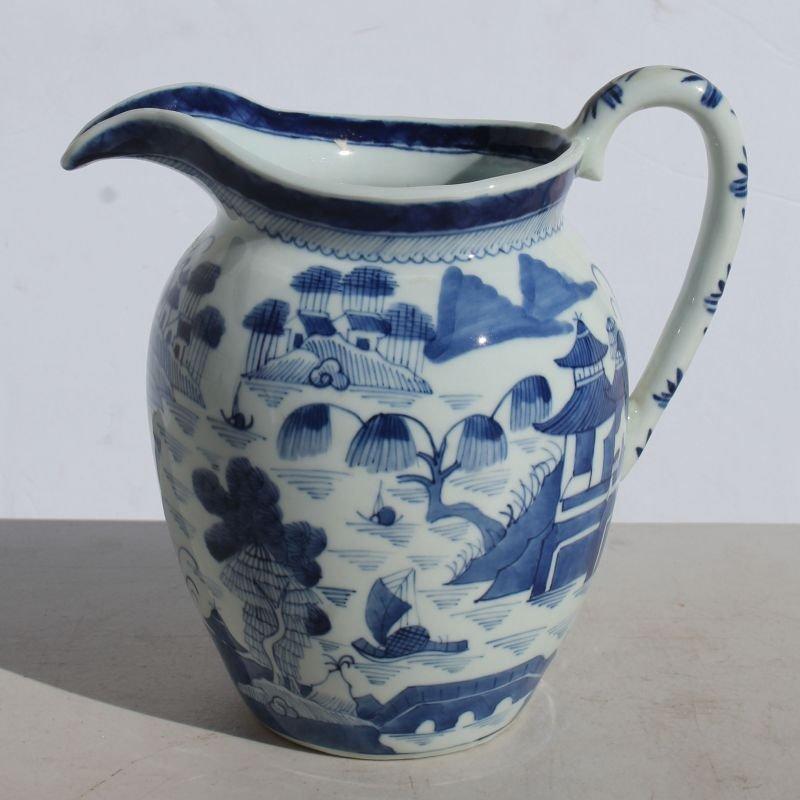 """ca 1860 Chinese Canton 8"""" water jug"""